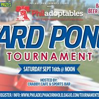 Yard Pong Tournament benefiting Philadoptables