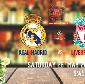 UEFA Finals at Urban Eatery