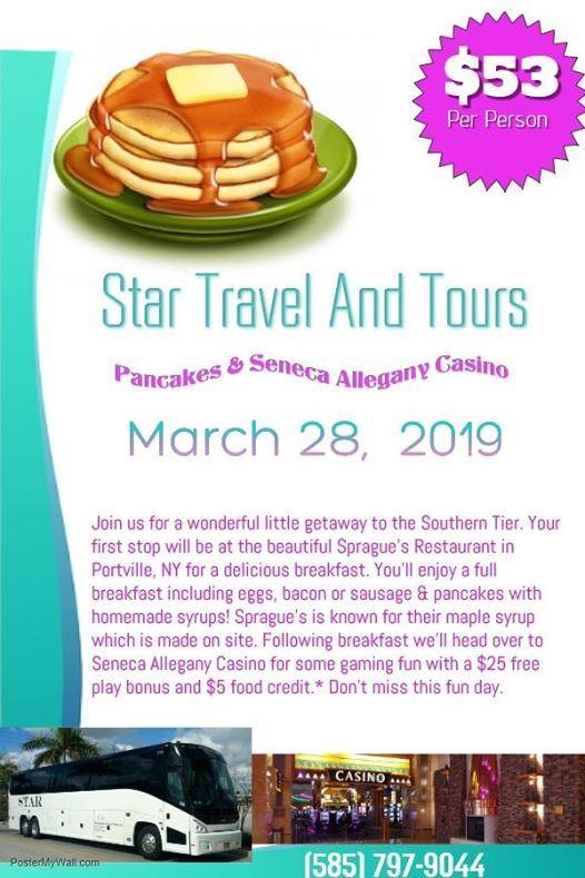 Pancakes & Seneca Allegany Casino