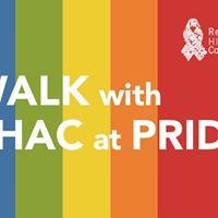 Walk with RHAC at PRIDE