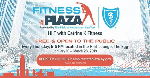 Fitness at the Plaza presented by Blueshield of Northeastern NY