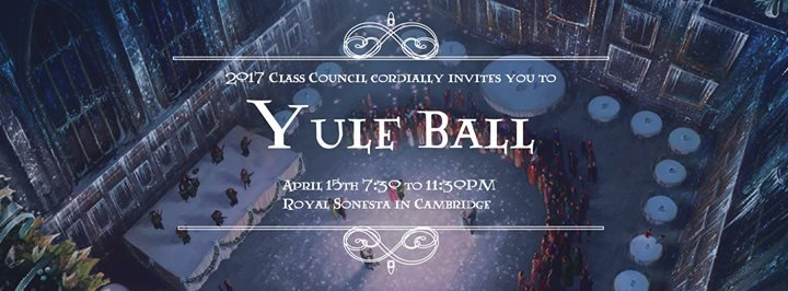 MIT 2017 Yule Ball Formal at Royal Sonesta Hotel Boston Cambridge
