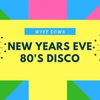 New years eve 80s disco