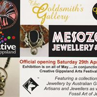 MESOZOIC Jewellery &amp Art Official Exhibition Opening
