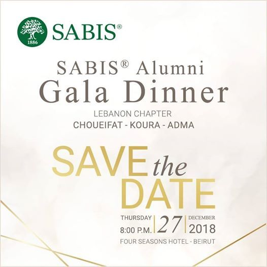 Sabis Alumni Gala Dinner Lebanon Chapter