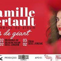 Oficina de canto com Camille Bertault - Sesc Jundia - SP