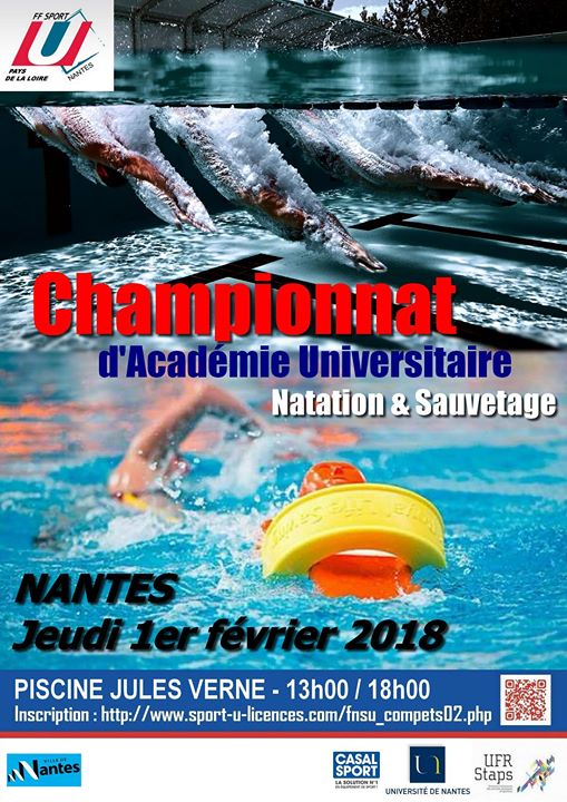 Championnat Dacademie Universitaire Natation Sauvetage At