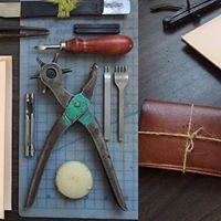 Leather Wallet Workshop with Wilkiesucher