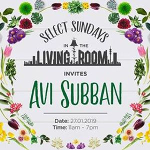 Select Sundays in The Living Room Invites Avi Subban
