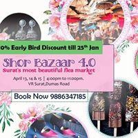 Shor Bazaar 4.0 Surats Most beautiful Flea Market