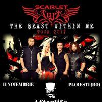 Scarlet Aura in Ploiesti - The Beast Within Me Tour 2017