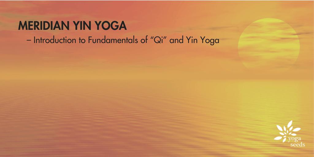 Meridian Yin Yoga  Introduction to Fundamentals of Qi and Yin Yoga