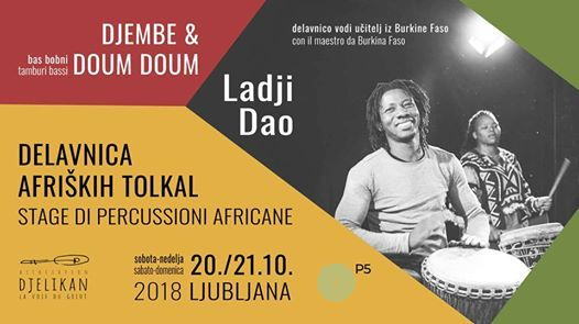 Vikend Delavnica Afrikih Tolkal  Weekend Stage Di Percussioni