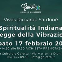 Vivek R. Sardon Spiritualit Indiana e Legge della Vibrazione