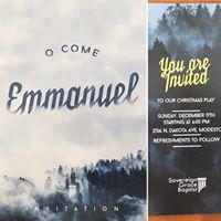 O Come Emmanuel Christmas Play