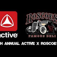 4th Annual Active x Roscoes Night