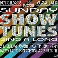 Sunday Show Tunes Sing-A-Long  Live Pianist