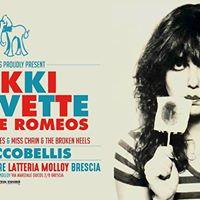 Nikki Corvette &amp The Romeos (Riccobellis) - Latteria Molloy