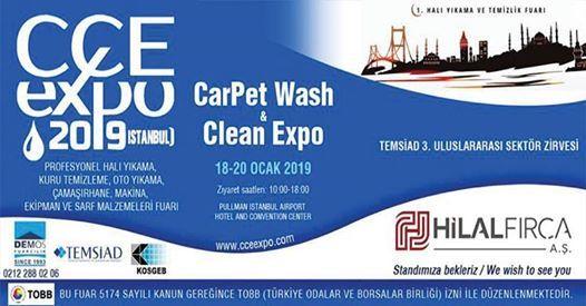 1. Hal Ykama Fuar - CarPet Clean Expo