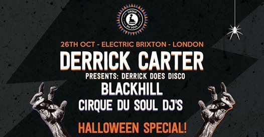 Cirque Du Soul  London  Halloween Special