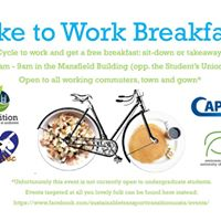 Bike to Work Breakfast