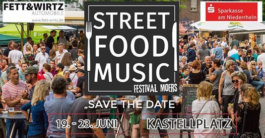2. Street Food & Music Festival Moers