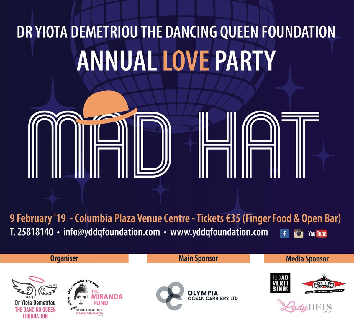 DQ Mad Hat Love Party