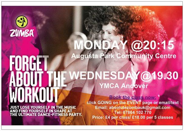 Zumba YMCA Andover Wednesday  14.02.2018