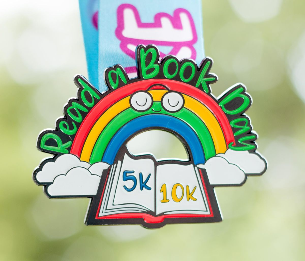 Now Only 10 Read a Book Day 5K & 10K - Take a Look Its in a Book - Austin