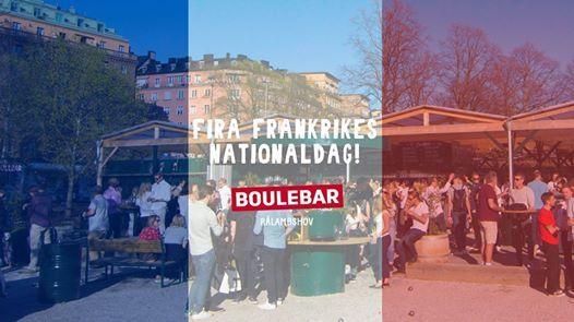 Fira Frankrikes Nationaldag Nu Pa Sondag Boulefest Hela Dagen Sun Jul 14 2019 At 10 30 Am
