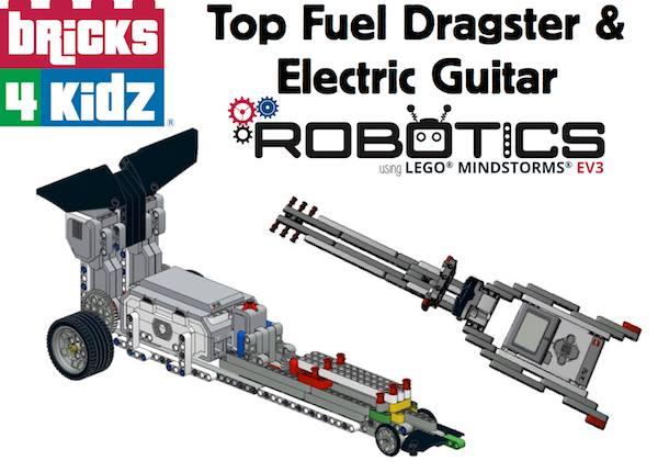 Top Fuel Dragster & Electric Guitar Mindstorms® EV3® Robotics at ...