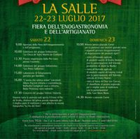 Savoir-faire Valdotain 22-23 luglio La Salle
