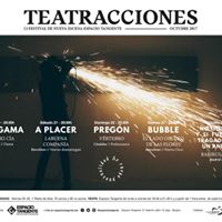Teatracciones 12. Festival de Nueva Escena de Espacio Tangente