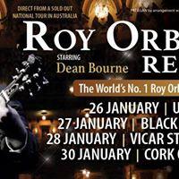 Roy Orbison Reborn (Dean Bourne) Vicar St Dublin Ireland JAN 28