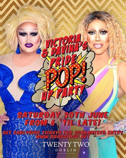 Pride POP-Up Party with Davina & Victoria