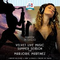 Live music concert by the sea Balzi Rossi beach