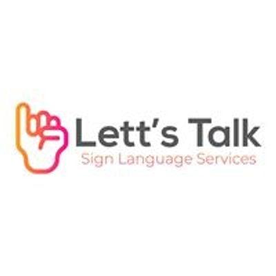 Lett's Talk: Sign Language Services