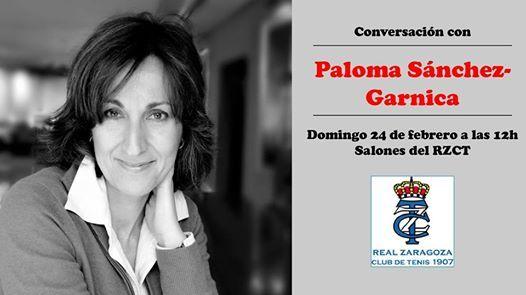 Paloma Snchez-Garnica en el RZCT