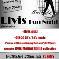 Elvis Fun Night Fundraiser