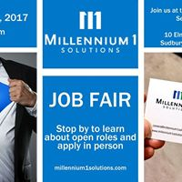 JOB FAIR - M1S Contact Centre Jobs in Sudbury
