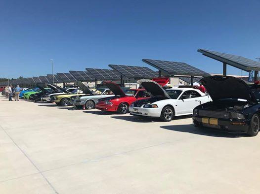 Classic Car Show at the Merritt Island Moose Lodge   Florida