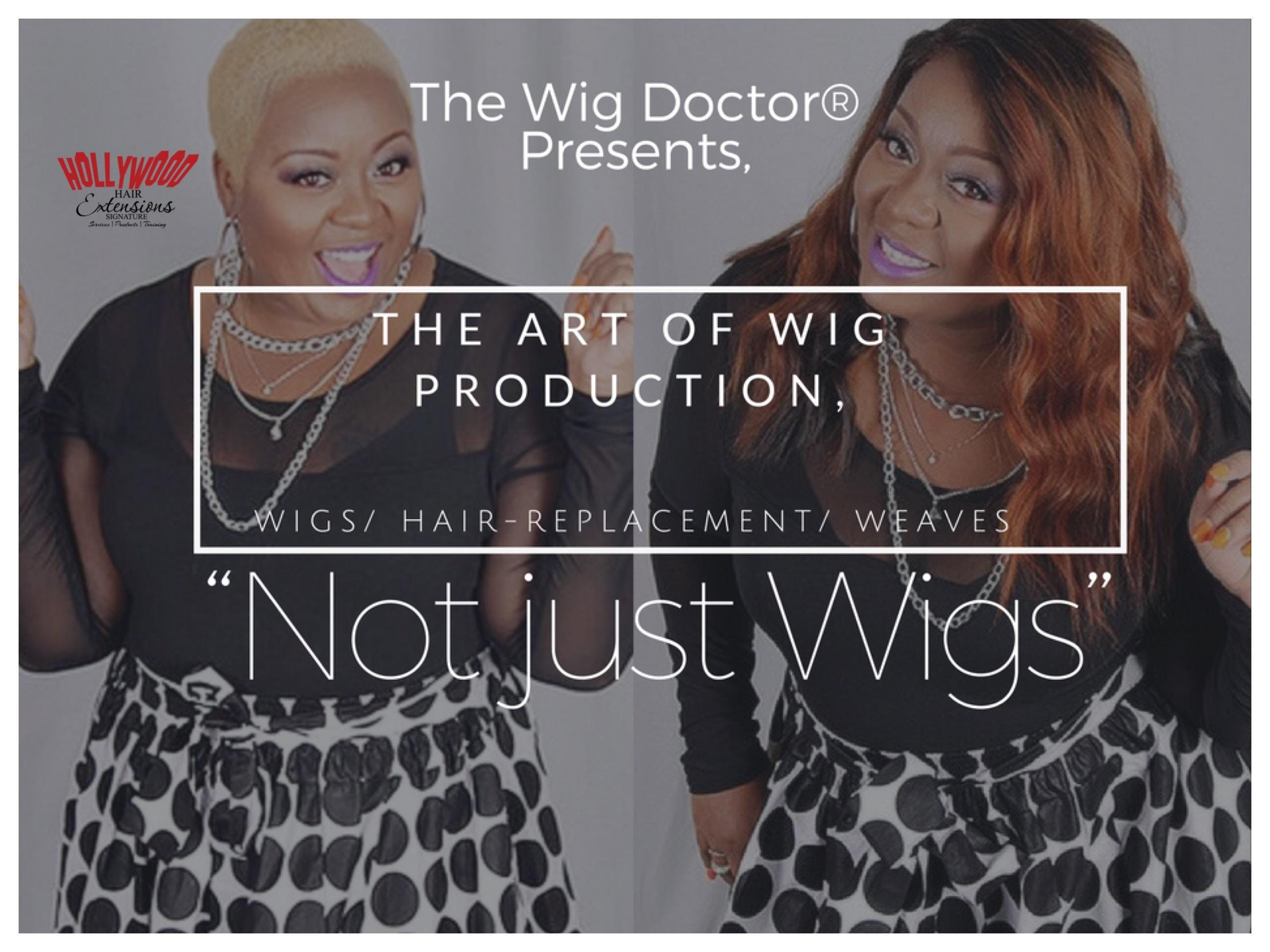 The Art of Wig ProductionNot just Wigs