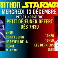 Marathon Starwars  Le Rveil de la Force  Les Derniers Jedi