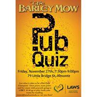 Pub Quiz Night for LAWS