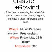 Classic Rewind Live At Music Paradise