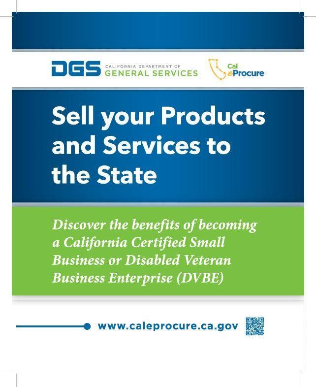 CA DGS Small Business Procurement Workshop 2019