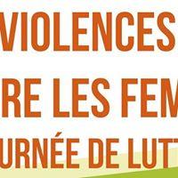 Journe de luttes contres les violences faites aux femmes.