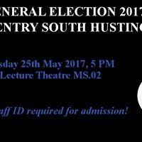 Warwick PolSoc General Election 2017 Hustings
