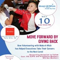 Move Forward by Giving Back with Make a Wish Foundation