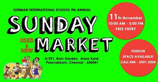 Sunday Market at ECR
